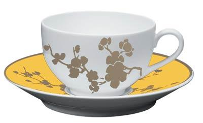 Yellow Tea Saucer