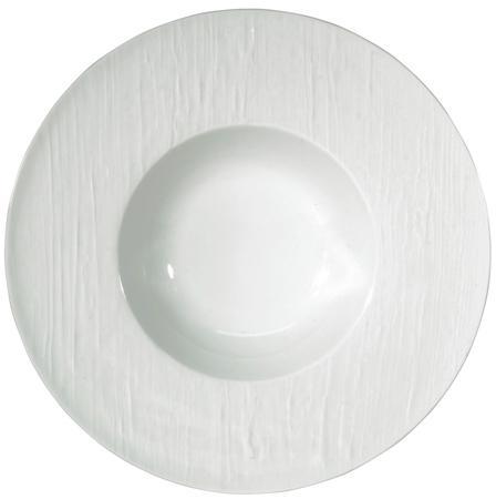 $84.00 White Rim Soup Plate
