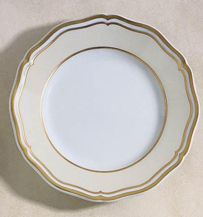 Polka Ivory Bread and Butter Plate