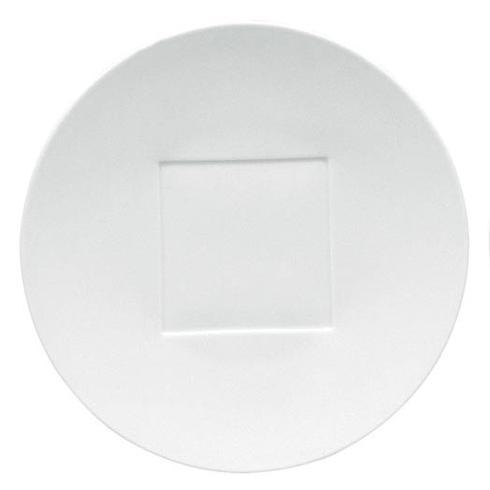 $112.00 Hommage Sable Buffet Plate Square Center