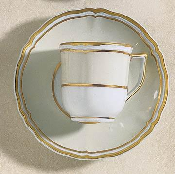 Polka Ivory Coffee Cup
