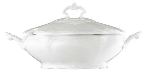 Rosenthal  Baronesse White by Hutschenreuther Vegetable Bowl, Covered $248.00