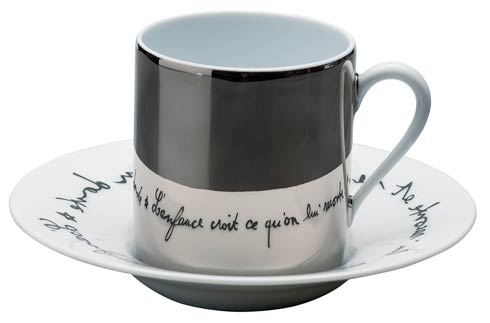 $110.00 Plein Platine Brillant Coffee cup