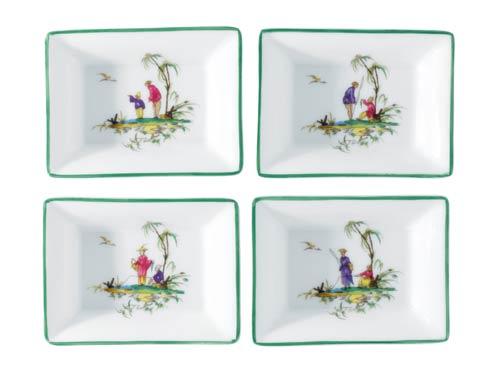 Raynaud Longjiang Multi color Trinket tray (DISCO. While Supplies Last) $62.00
