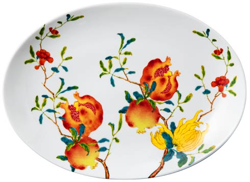 $500.00 Oval Platter – 14.2 x 10.2 in