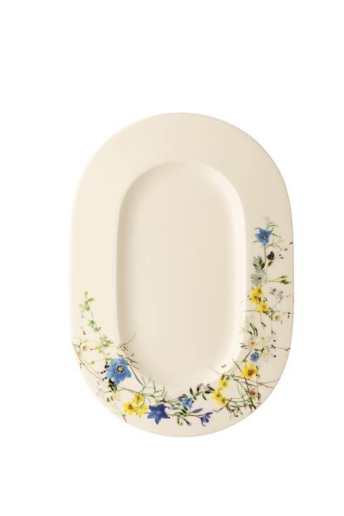 $122.00 Platter Oval Rim 13 1/2 x 9 1/2 in