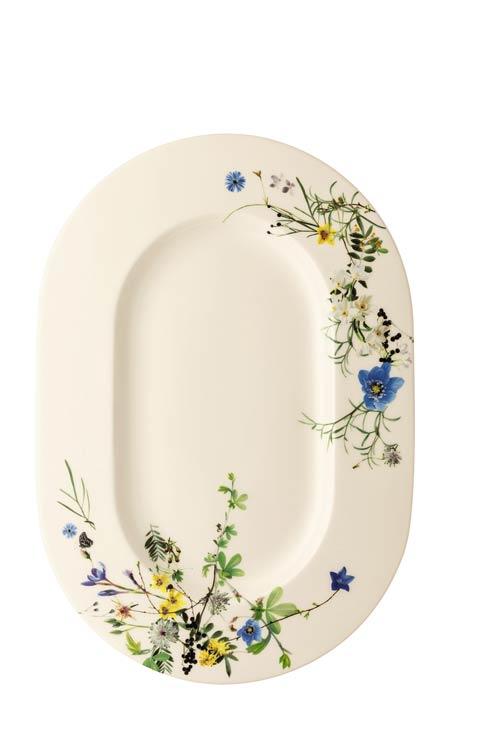 $174.00 Platter Oval Rim 16 x 11 1/2 in