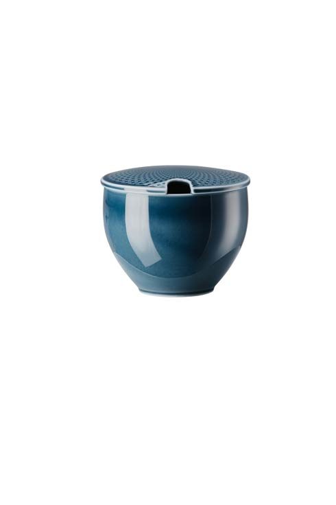 $65.00 Covered Sugar Bowl with Indent 9 oz