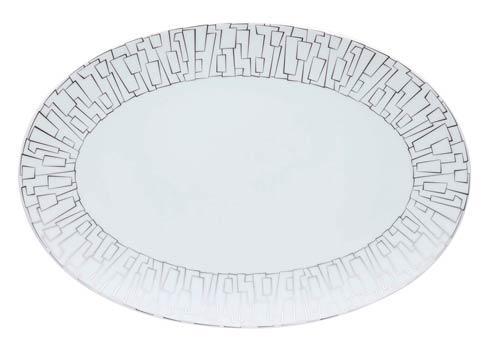 Rosenthal TAC TAC 02 Dinnerware - Skin Platinum Platter $250.00