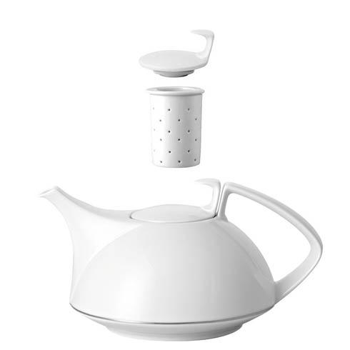 $455.00 Tea Pot 45 oz 4-Pc Set 4Pc = 2 Strainers Tpot Lid