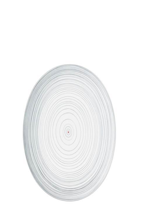 $185.00 Multicolor Platter 15 in
