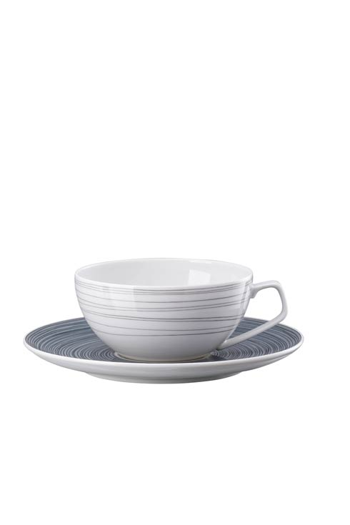 Multicolor Tea Cup Low 8 oz image