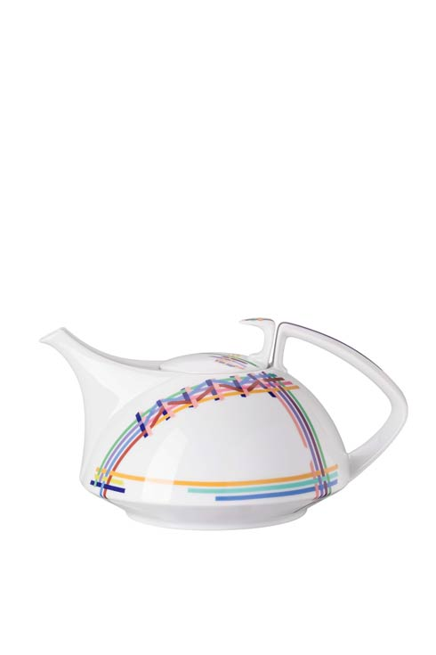 $330.00 Multicolor Tea Pot 45 oz