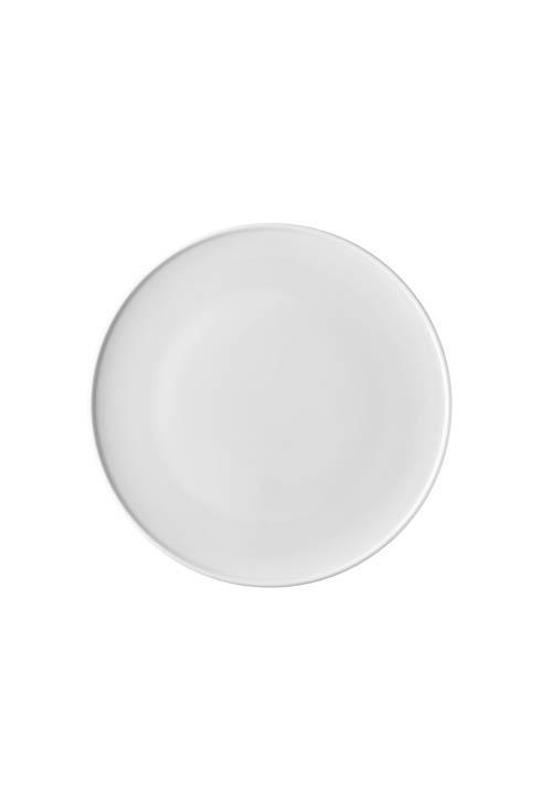 $22.00 White Dinner Plate 10 1/2 in