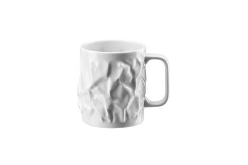 $40.00 Bag Vase White Mug w/ Hndl Large