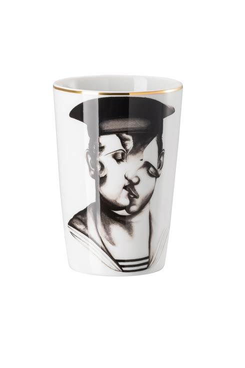 White/Black Travel Mug 13 oz