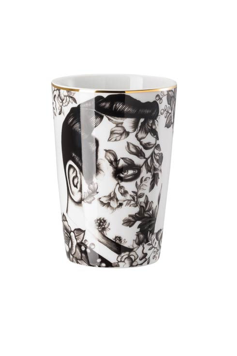 White/Black Travel Mug 13 oz image