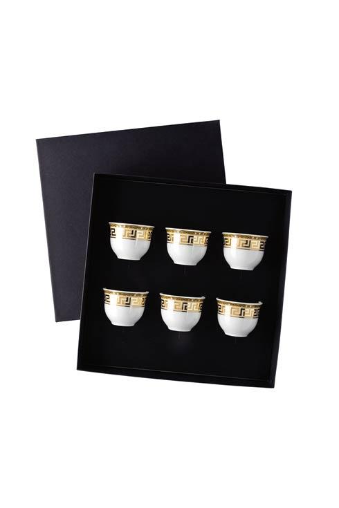 $475.00 Set Of 6 Mugs Small W/O Handle