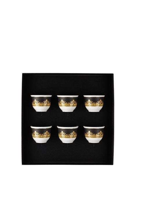 $475.00 Set Of 6 Mugs Small W/O Handle