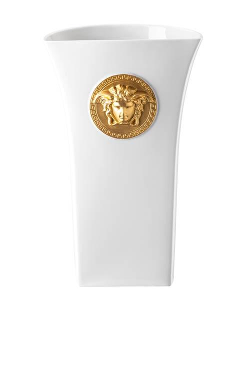 $995.00 Vase 13 1/2 in White