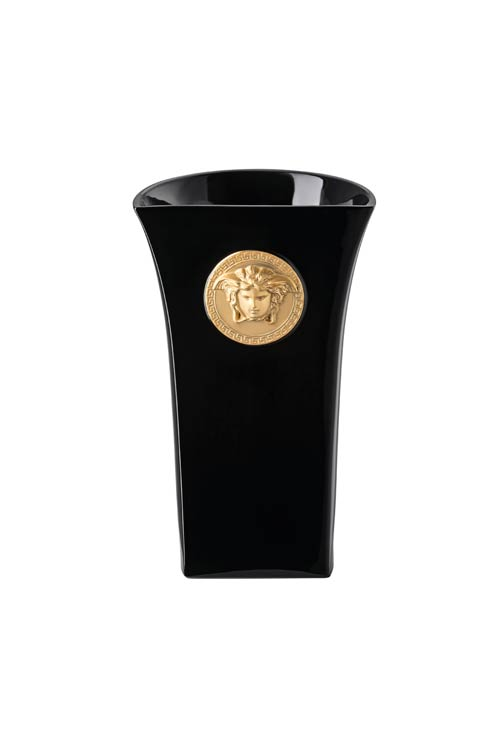 $695.00 Vase 10 1/4 in Black