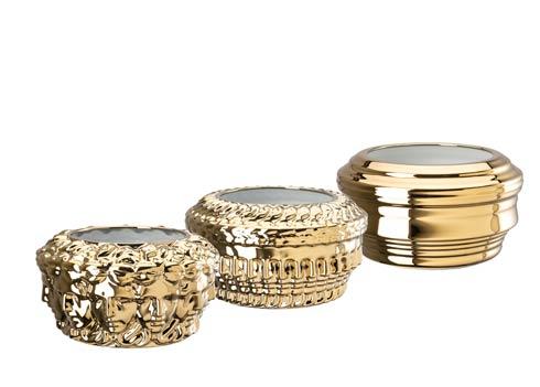 $4,895.00 Euphoria Gold - Set of 3 Vases