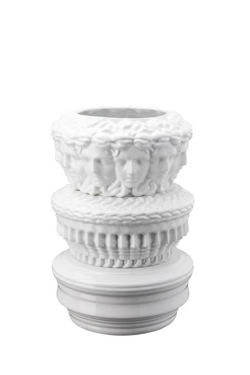 $3,350.00 Euphoria White - Vase-Object 13 1/2 in