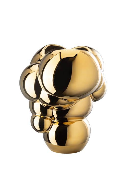 $695.00 Gold Reflections Vase – 10 ¼