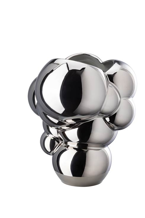 $695.00 Platinum Reflections Vase – 10 1/4