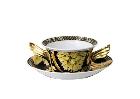 Cream Soup Cup & Saucer