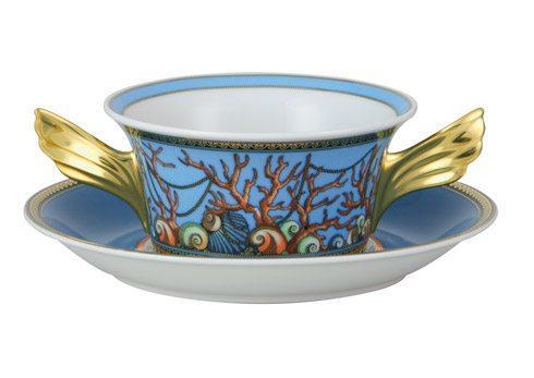 $480.00 Cream Soup Cup & Saucer
