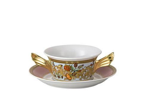 Cream Soup Cup & Saucer image