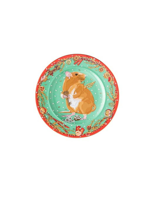 $85.00 2020 Year of the Rat - Wall Plate 7 in
