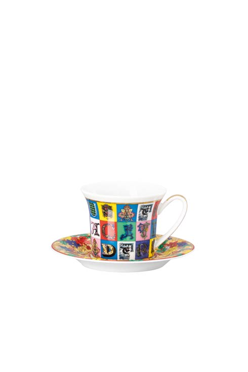 $255.00 AD Cup & Saucer 4 1/4 in