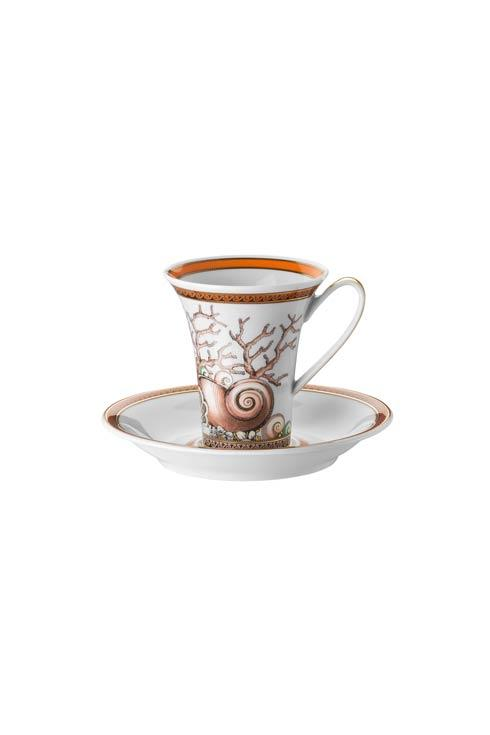 $255.00 Ad Cup & Saucer 3 oz 5 in