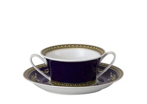 $393.00 Cream Soup Cup & Saucer