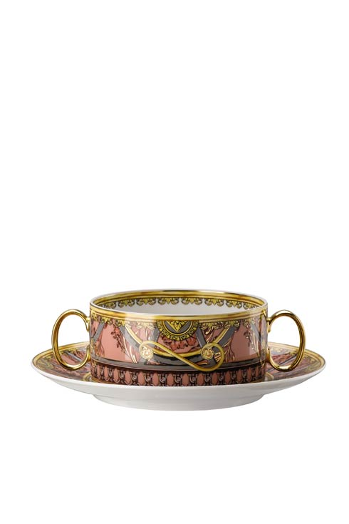 $624.00 Cream Soup Cup & Saucer