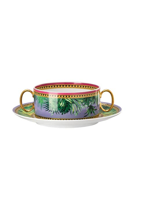 $480.00 Cream Soup Cup - 10 oz & Saucer – 6 3/4 in
