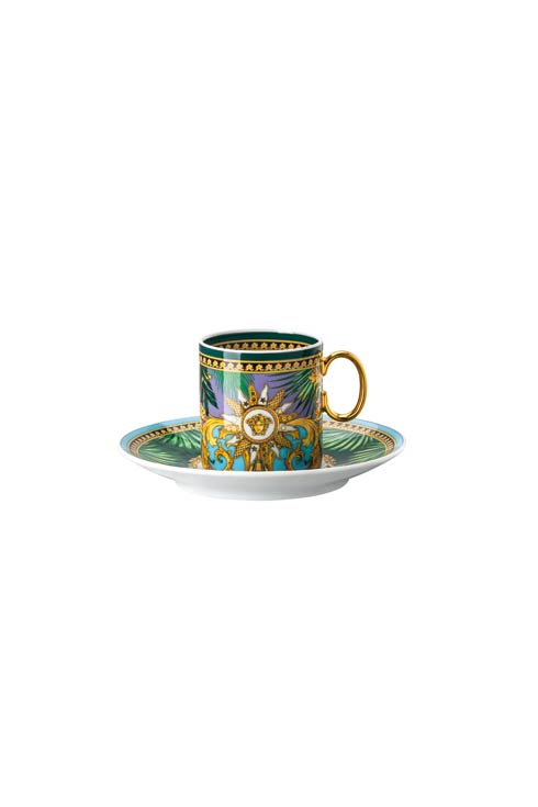 $265.00 Green AD Cup - 3 oz & Saucer – 4 1/4 in