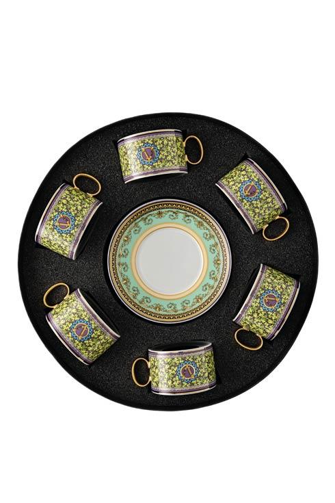 $1,800.00 Tea Cup & Saucer Set/Six Round Hat Box