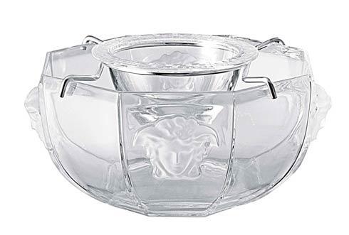 $525.00 Caviar Bowl w/insert, Crystal