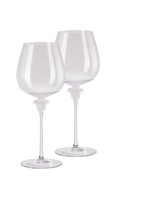 $650.00 Red Wine Burgundy Set of Two 11 in 29 oz
