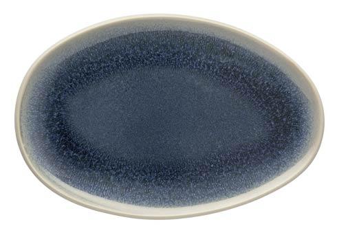 Rosenthal Junto Aquamarine Platter Flat Oval 11 x 7 2/3 in $60.00
