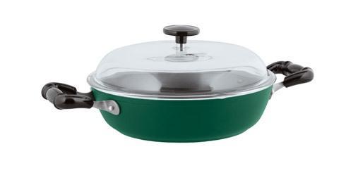 $99.95 Nonstick Saute Pan, 2 handles Green