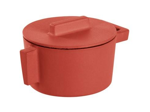 $69.95 Saucepot With Lid, Paprika