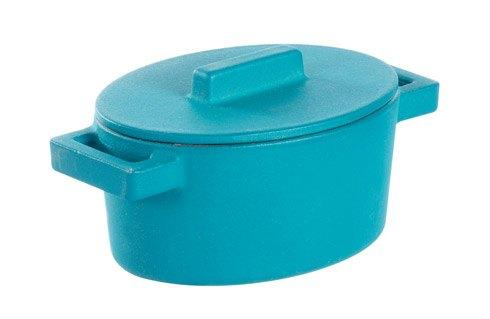 $69.95 Oval Casserole With Lid, Anis 5 X 4 In
