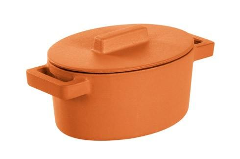 $69.95 Oval Casserole With Lid, Curry 5 X 4 In