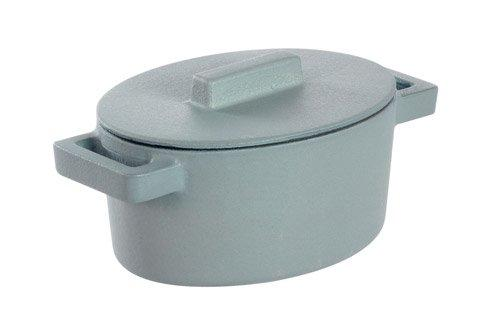 $69.95 Oval Casserole With Lid, Ginger 5 X 4 In