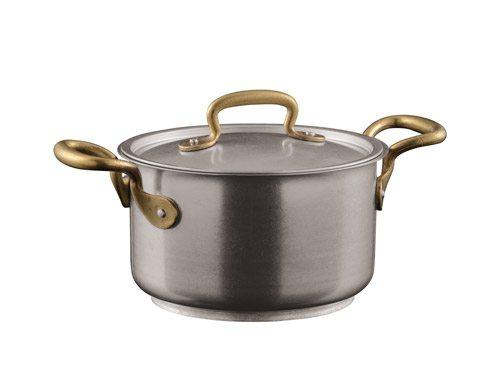 $135.00 Saucepan with Lid, 2 Handles