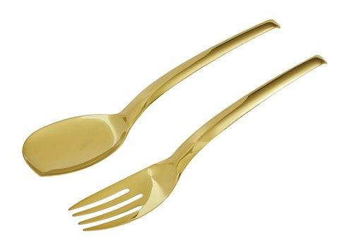 Sambonet  Serving utensils Living Serving Spoon and Fork Set $115.00